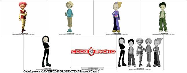 Les personnages de code
