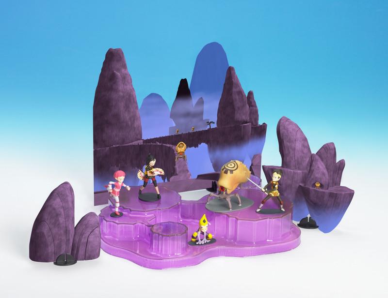 les figurines Montagne