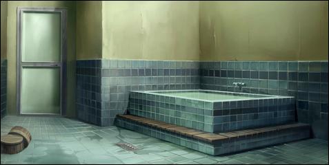 la baignoire presque dmesure des ishiyama et la salle de bain toujours emplie de vapeurs dune eau brlante est un tmoignage du fait que les ishiyama ne - Salle De Bain Japonaise Traditionnelle